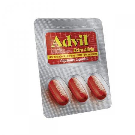 Advil Extra Alívio 400mg