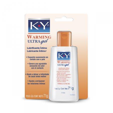 Gel Lubrificante Íntimo K-Y Warning