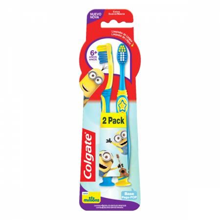 Escova Dental Infantil Colgate Smiles Minions