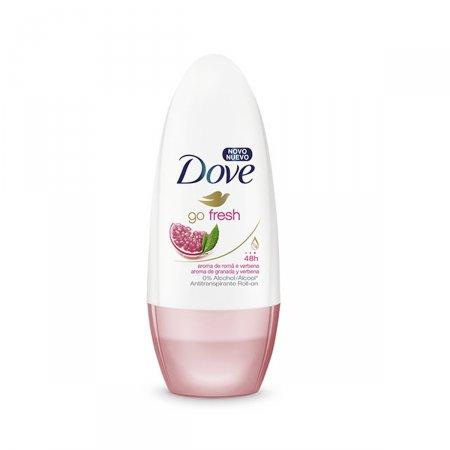 Desodorante Roll On Dove Romã e Verbena
