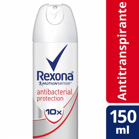 Desodorante Aerosol Rexona Antibacterial Protection