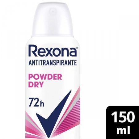Desodorante Antitranspirante Rexona Feminino Aerosol Powder Dry