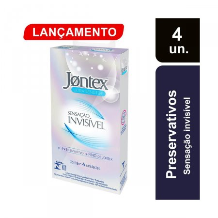 Preservativo Jontex Sensação Invisível