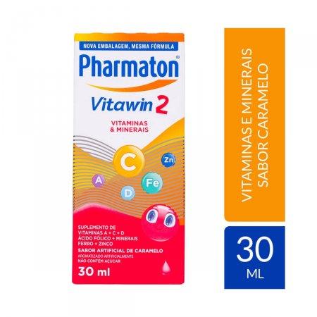 Pharmaton Vitawin 2 Sabor Caramelo