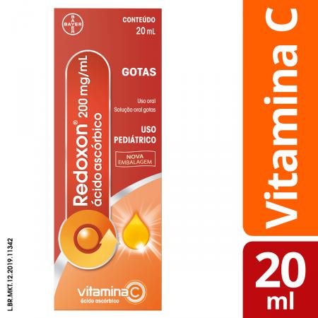 Vitamina C Redoxon 200mg/ml Gotas com 20ml