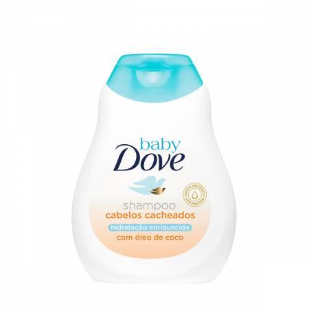 Shampoo Dove Baby Hidratação Enriquecida Cabelos Cacheados