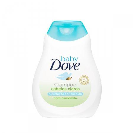 Shampoo Dove Baby Hidratação Enriquecida Cabelos Claros