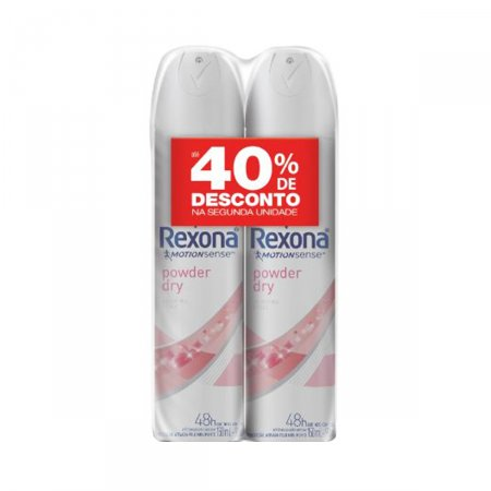 Kit Desodorantes Aerosol Rexona Women Powder
