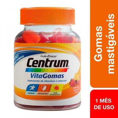 Suplemento Vitamínico Centrum VitaGomas com 30 gomas