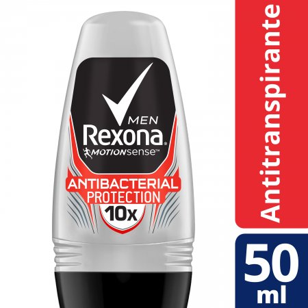Desodorante Roll-On Rexona Men Antibacterial Protection