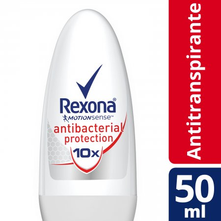 Desodorante Rexona Roll-On Antibacterial Protection