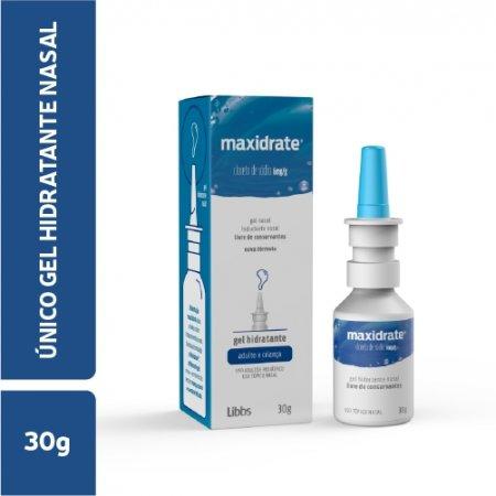 Maxidrate 6mg/g Gel Nasal com 30g