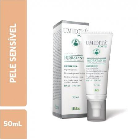 Hidratante Facial Umiditá Pele Sensível FPS25 com 50ml