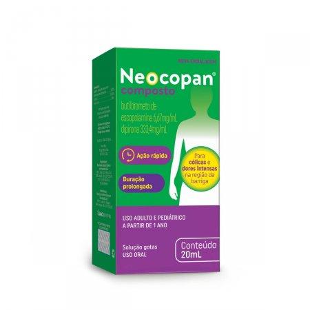 Neocopan Composto Gotas com 20ml