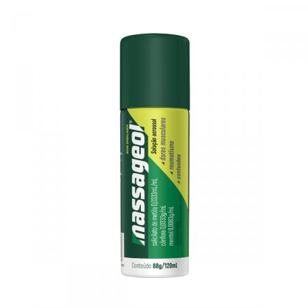 Massageol Spray com 120ml
