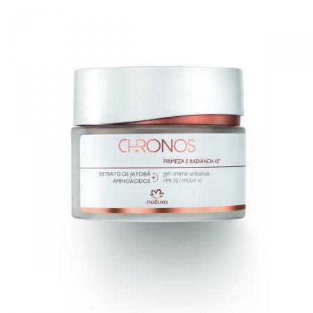 Gel Creme Natura Chronos Antissinais 45+ FPS30 Firmeza e Radiância