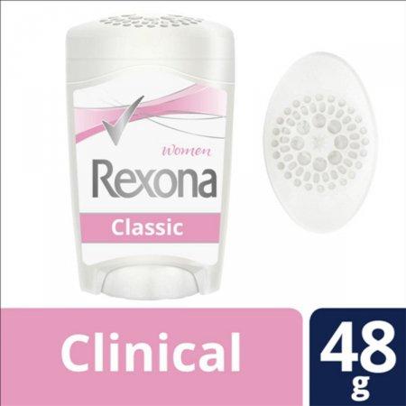 Desodorante Antitranspirante Rexona Clinical Feminino Rosa