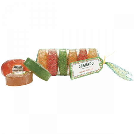 Kit Sabonete em Barra Granado Mix de Frutas Tropicais