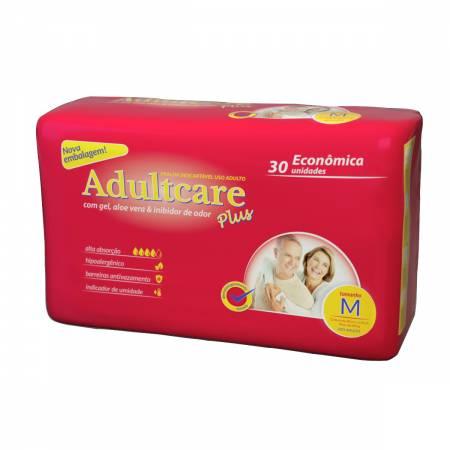 Fralda Geriatrica Adultcare Plus Tamanho M