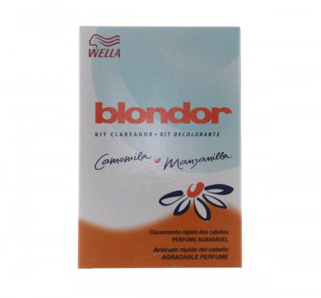 Kit Clareador Blondor Camomila e Manzanilla