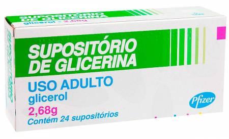 Supositório de Glicerina