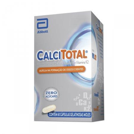Calcitotal com 60 cápsulas