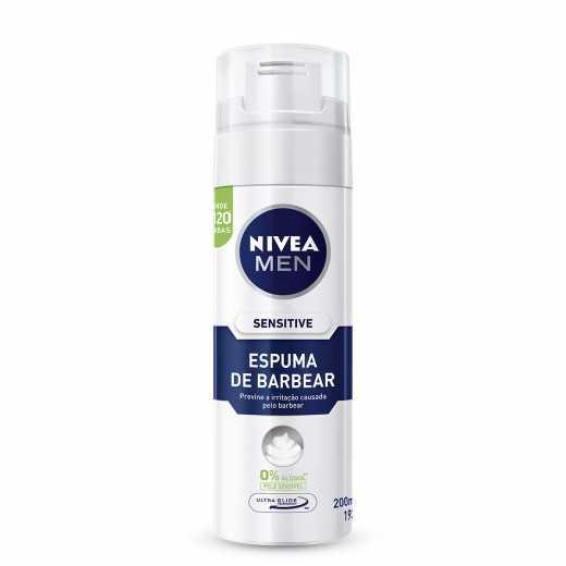 a5ee3f628c Espuma de Barbear Nivea Men Sensitive 200ml | Droga Raia