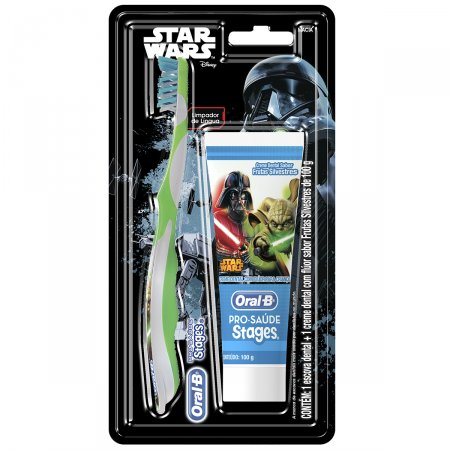Kit Infantil Oral B Stages Star Wars