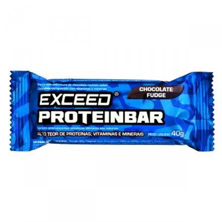 ProteinBar Exceed Sabor Chocolate Fudge