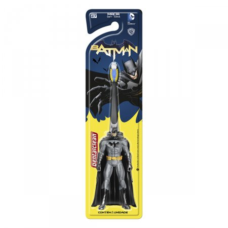 Escova Dental Infantil Dentalclean Batman 3D Macia