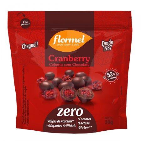 Drageado Flormel de Cranberry com Chocolate