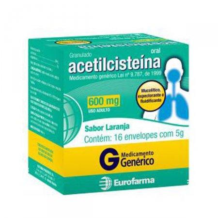 Acetilcisteína 600mg