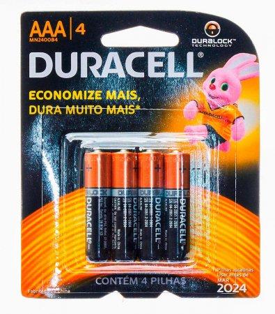 Pilhas Alcalinas AAA