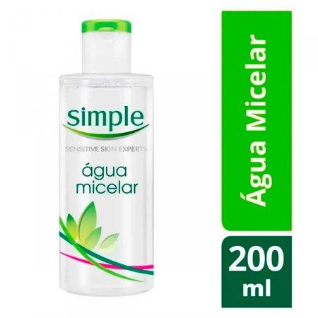 Água Micelar Simple com 200ml