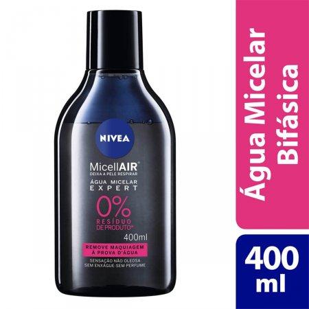 Água Micelar Nivea MicellAIR Expert com 400ml
