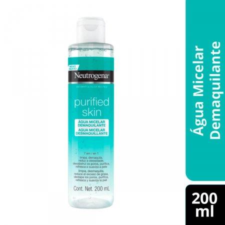 Água Micelar Demaquilante Neutrogena Purified Skin com 200ml