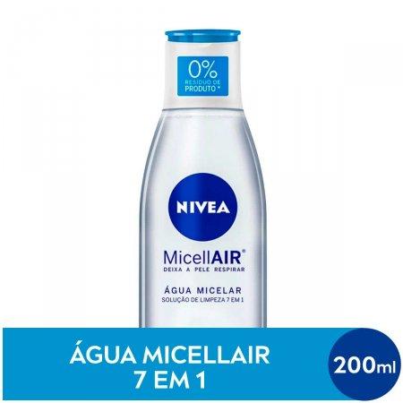 Água Micelar Nivea MicellAIR Solução de Limpeza 7 em 1 com 200ml
