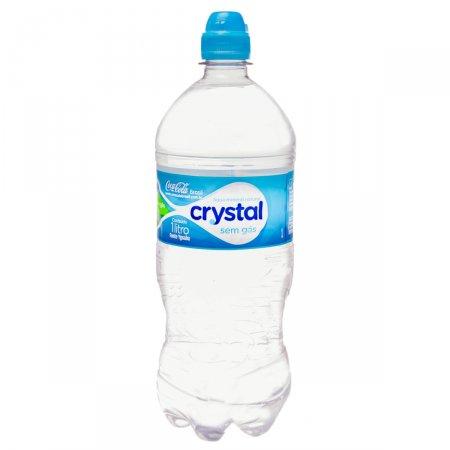 Água Mineral Natural Crystal Sem Gás com 1L