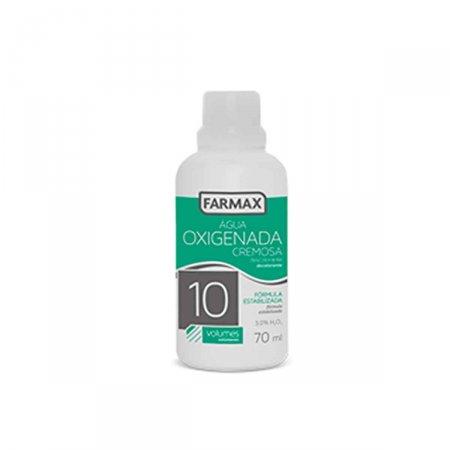Água Oxigenada Cremosa Farmax 10 Volumes com 70ml