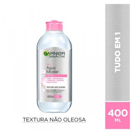 Água Micelar Facial Garnier SkinActive Oil Free com 400ml
