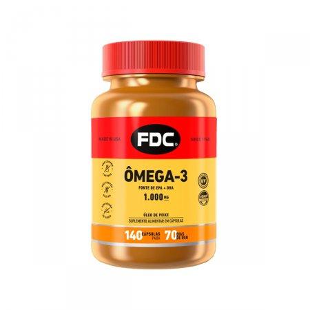 Ômega 3 EPA 1000 mg FDC com 140 Cápsulas