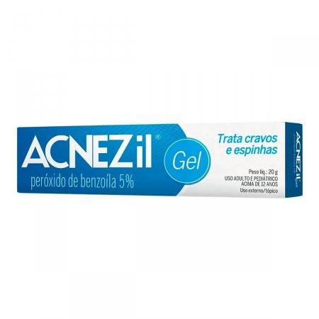 Antiacne Acnezil 50mg/g Gel com 20g
