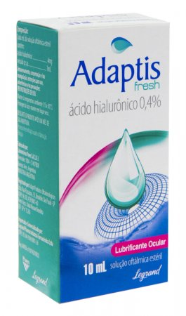Colírio Adaptis Fresh 0,4% com 10ml