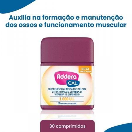 Suplemento Vitamínico Addera Cal 1.000UI com 30 Comprimidos | Foto 2