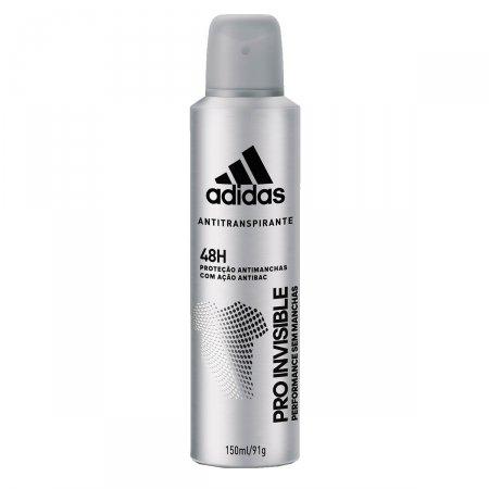 Desodorante Aerosol Adidas Invisible Masculino