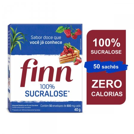 Adoçante Finn Sucralose