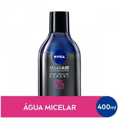 Água Micelar Bifásica Nivea MicellAIR Expert com 400ml