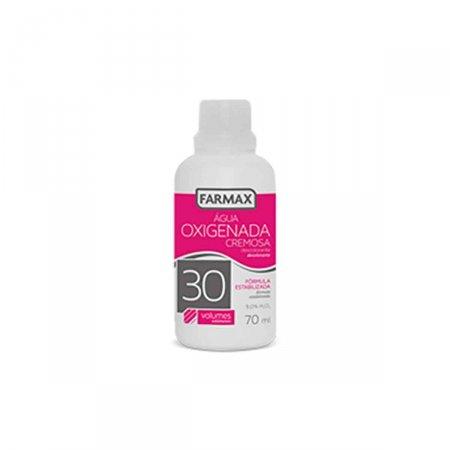 Água Oxigenada Cremosa Farmax 30 Volumes com 70ml