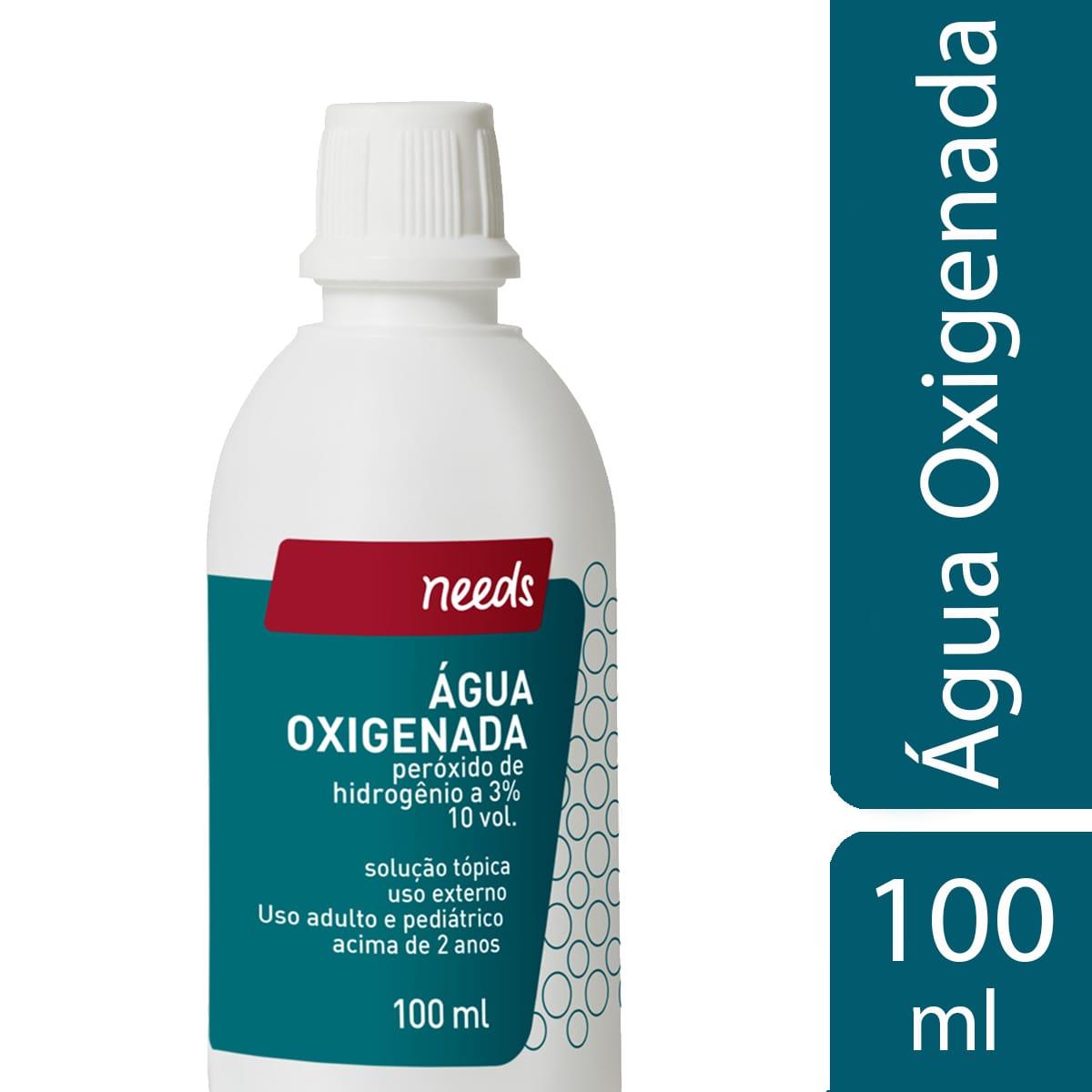 Agua Oxigenada 10 Volumes Needs Droga Raia