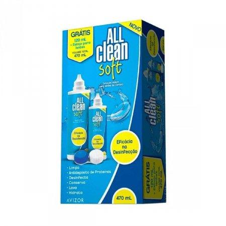 Solução para Lentes All Clean Soft + Estojo